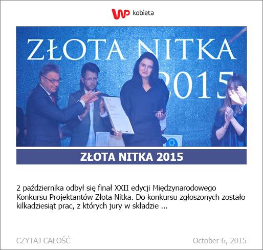 02.10.2015 Lodz Zlota Nitka Fot: Lukasz Szelag
